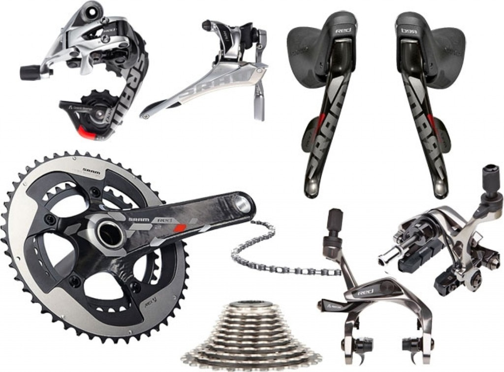 The Red 22 hydraulic rim road groupset